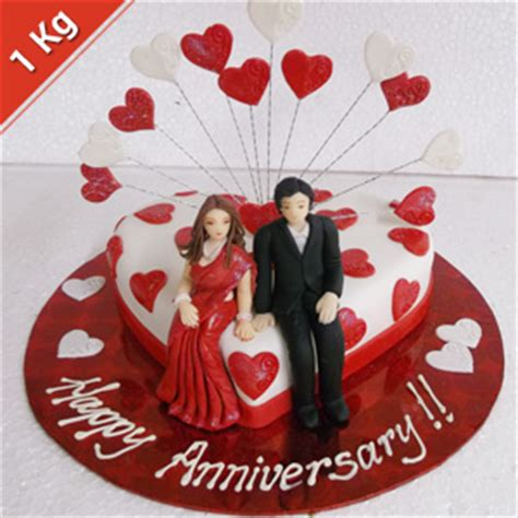 send krazy  chocolates eggless anniversary cake kg