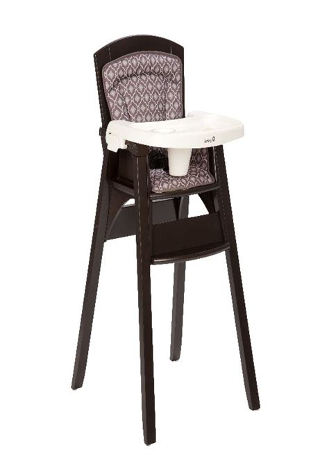 la chaise haute totem de safety 1st confortable et г 169 volutive wooden high chair