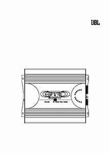 Jbl Gto 2060 Service Manual