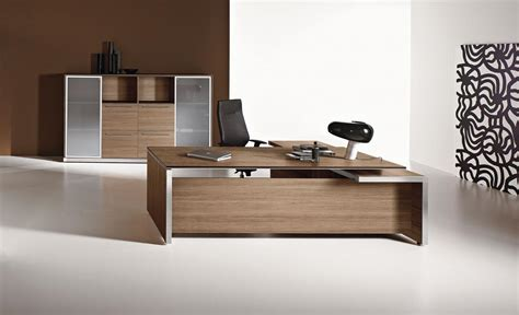 bureau bois design contemporain vente bureau direction bois ambiance contemporaine