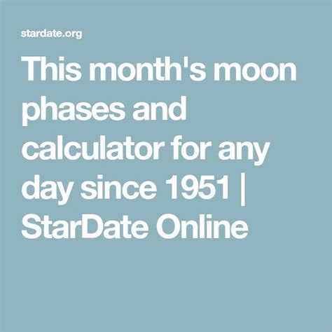moon phase chart ideas pinterest lunar magic moon