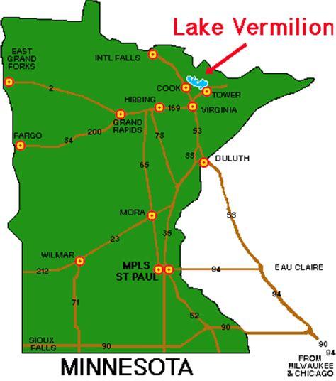 where is lake vermilion