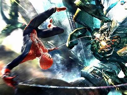 Spider Spiderman Amazing Goblin Wallpapers Desktop Pc