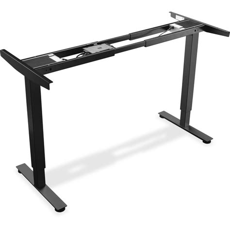 llr25988 lorell electric height adj sit stand desk