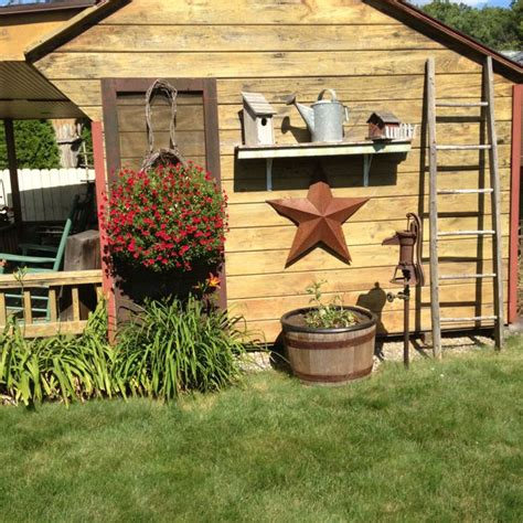 Best Country Primitive Outdoor Ideas Images
