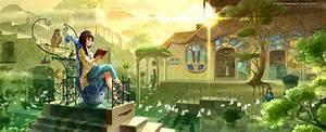 Download Reading Fantasy Wallpaper 2995x1216 | Wallpoper ...