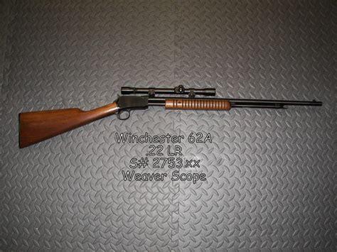 winchester 62 value 62a models firearms gun pump