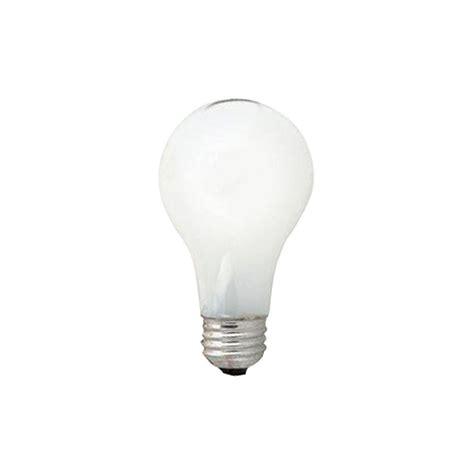 sylvania 60 watt incandescent a19 standard coat light bulb