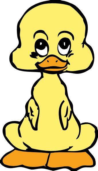 baby duck clip art  clkercom vector clip art