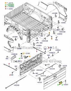 Oem Black Tailgate Handle Ford F150 F250 F350 F450 F550 Explorer Sport Trac