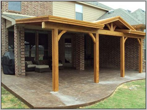 attached covered patio to house patios home design