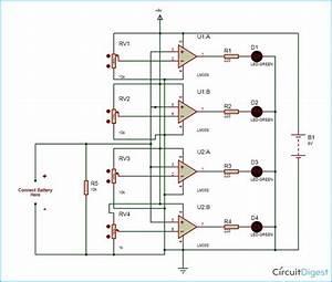 Battery Monitor Circuit Diagram