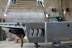Flatbed Pickup Beds by Custom Built Truck Beds Flatbed And Dump Trailers For
