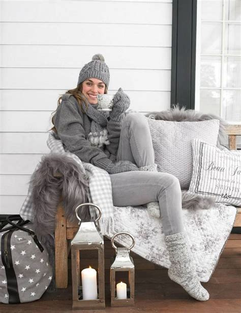 winter porch  winter outdoor decorating ideas