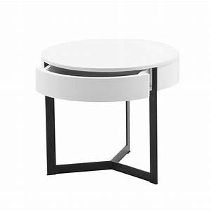 Table De Nuit Ronde WESLEY