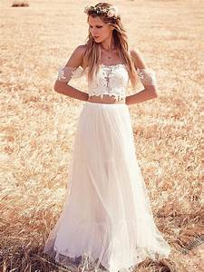 boho chic wedding dresses for sale With chic wedding dresses