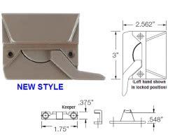 wenco sash locks casement awning windows handed sash