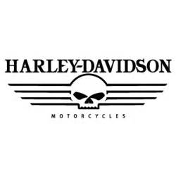 Harley-Davidson Skull Logo Stencil