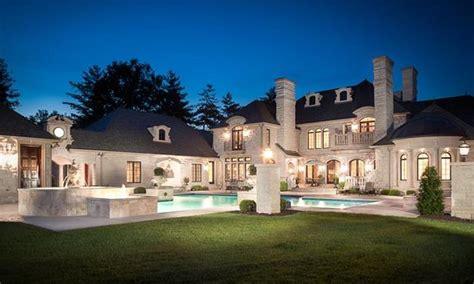 square foot limestone mansion  saint louis mo