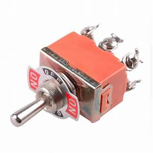 Double Pole Double Throw Reversing Switch For Dc Motors