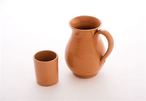 bicchieri in terracotta bicchieri terracotta