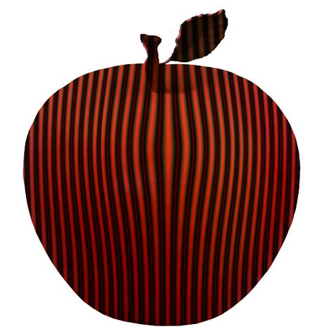Red And Black Striped Apple Free Stock Photo - Public ...
