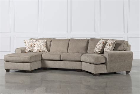 sectional sofa cuddler chaise patola park 3 cuddler sectional w laf cornr chaise