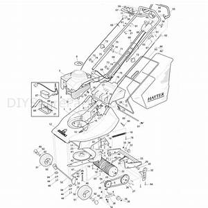 Hayter Harrier 41  305  Lawnmower  305a001001