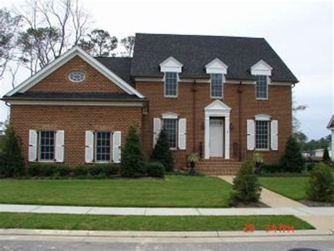 Home Design 1st Floor : Colonial Home With First Floor Master