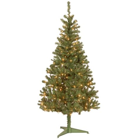 artificial trees with lights national tree company 6 ft canadian grande fir artificial