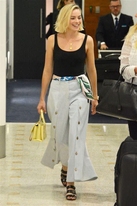 Margot Robbie Touched Down In Sydney 03162018