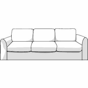 Sofa clipart, cliparts of Sofa free download (wmf, eps ...