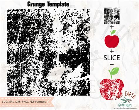distressed template pattern grunge pattern svg eps  dxf png formats cricut silhouette