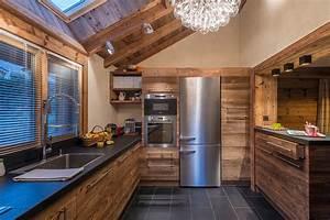 amenagement et decoration d39un chalet contemporain With charming plan de travail pour exterieur 4 renover une cuisine avec les plans de travail de