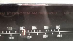 Vintage Sony Str Fm Stereo Receiver With Manual