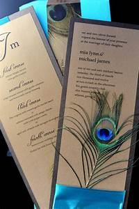 peacock wedding invitations and wedding ideas With peacock wedding invitations with photo
