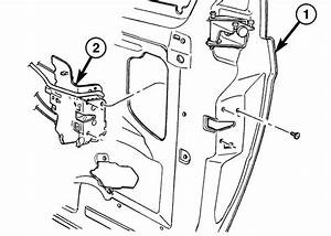 A Latch Mechanism Issue Or A Sliding Door Motor Issue