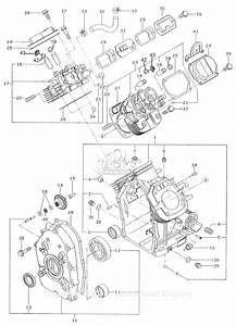 Robin  Subaru Eh65 Parts Diagram For Crankcase