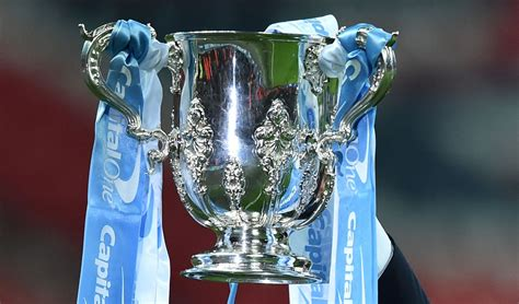 efl cup   fourth  draw arsenal  liverpool