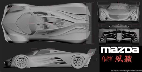 Mazda Furai Blueprints Pinterest Mazda And Cars