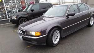1998 Bmw 740i Riding On 17 Inch Custom Rims  U0026 Tires Bmw