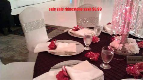 sale sale sale bling chair cover sash unique by fashionproposals