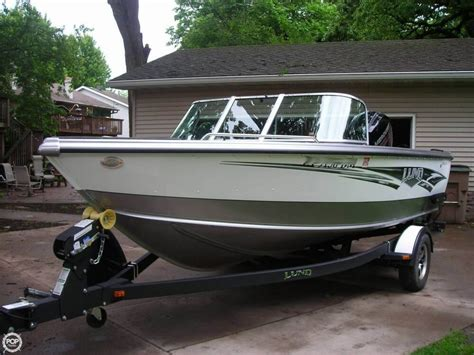 Aluminum Fishing Boat For Sale Used by 2014 Used Lund 1800 Tyee Aluminum Fishing Boat For Sale