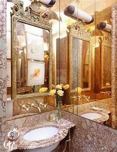 comment decorer avec le grand miroir ancien idees en With miroir salle de bain style ancien