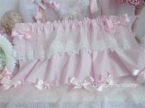 Window Valance Shabby Chic Pink Batiste Blush And Her