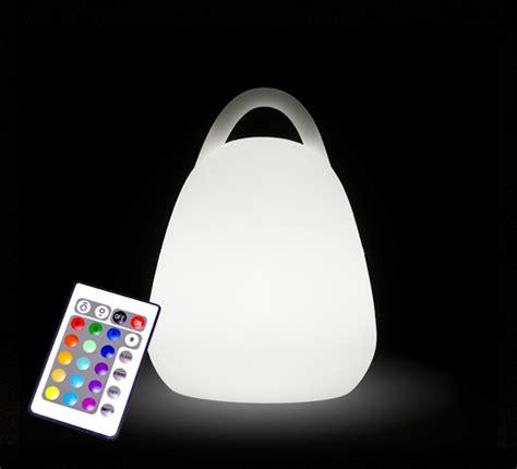 le de table lanterne led h16cm sans fil rechargeable 39 salon d