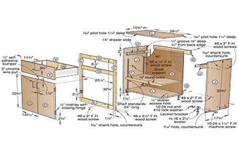 cabinet making plans free plans to build building plans garage cabinets diy pdf