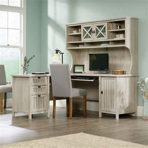 Sauder L Shaped Desk Dover Oak Finish by Sauder L Shaped Desk With Hutch Whitevan