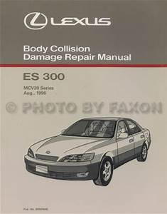 1997 Lexus Es 300 Wiring Diagram Manual Original