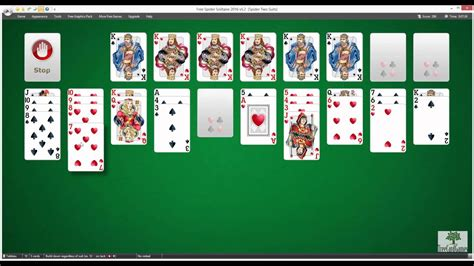 Two Suit Spider Solitaire Fall by Free Spider Solitaire How To Play Free Spider Solitaire